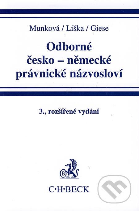 Fatimma.cz Odborné česko-německé právnické názvosloví Image