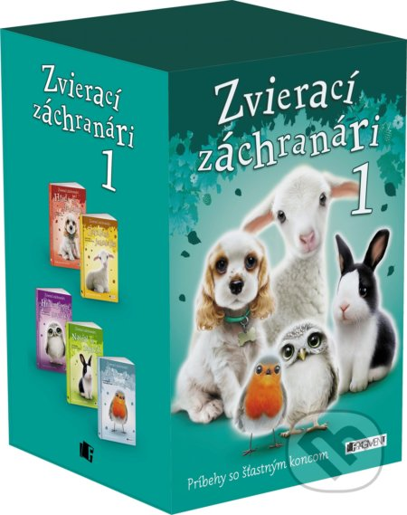 Fatimma.cz Zvierací záchranári 1 (BOX) Image