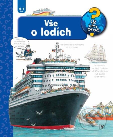 Vše o lodích - Susanne Gernhäuser, Peter Nieländer (ilustrátor) ALBATROS