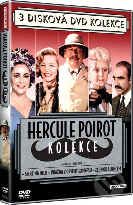 Hercule Poirot kolekce DVD