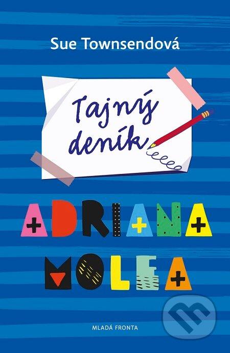 Kniha Tajný deník Adriana Molea (Sue Townsend)