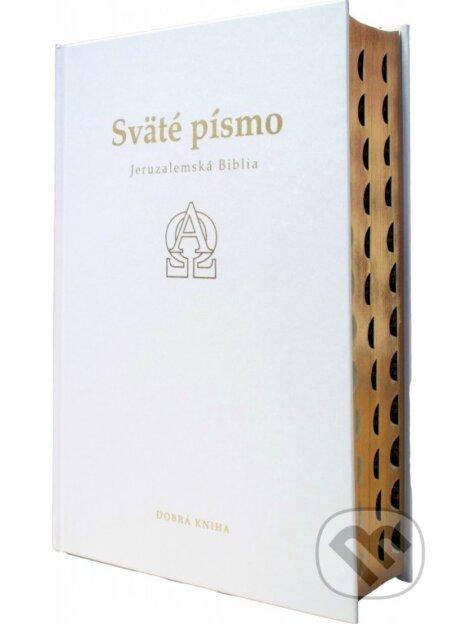 Sväté písmo - Jeruzalemská Biblia (biele darčekové vydanie so zlatoorezom) - 7d3eba21a6a