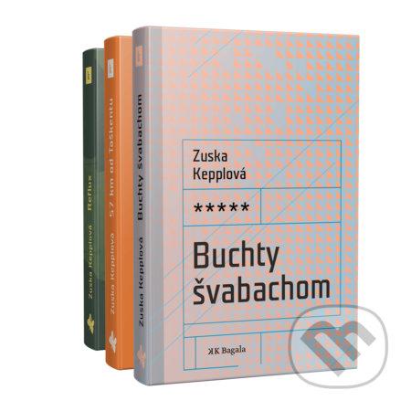 Fatimma.cz Zuska Kepplová - Sada troch kníh Image