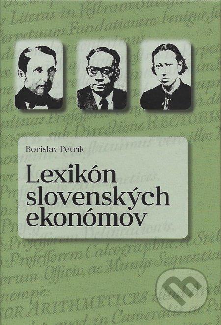 Fatimma.cz Lexikón slovenských ekonómov Image