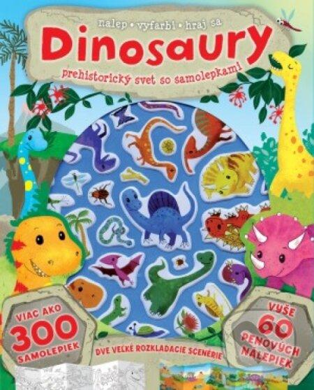 Venirsincontro.it Dinosaury – prehistorický svet so samolepkami Image