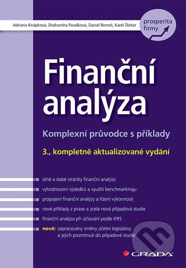 Finanční analýza - Adriana Knápková, Drahomíra Pavelková