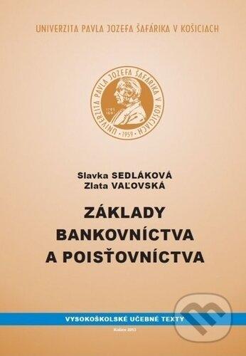 Kniha: Základy bankovníctva a poisťovníctva (Slavka