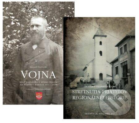 Fatimma.cz Vojna (Malé poznámky z môjho života na bojišti v rokoch 1914 - 1918) + Zborník zo Stretnutia priateľov regionálnej histórie 2017 Image