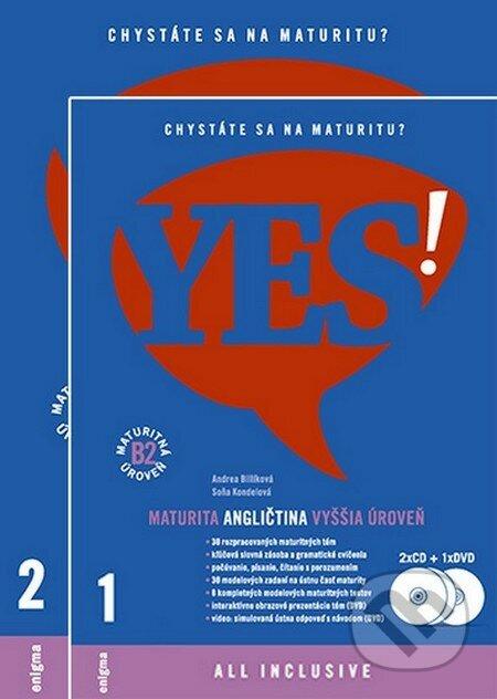 fa21592e7b Kniha  YES! Angličtina - nová maturita - vyššia úroveň + 2CD + DVD ...