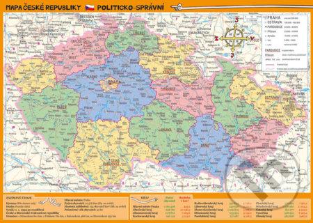 Fatimma.cz Mapa České republiky – zeměpisná a politicko-správní Image
