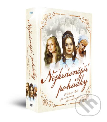 Nejkrásnější pohádky 3 DVD DVD
