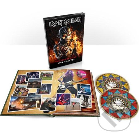 Iron Maiden: The Book Of Souls Live Chapt Deluxe - Iron Maiden