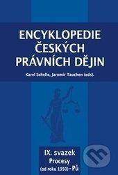 Interdrought2020.com Encyklopedie českých právních dějin IX. Image