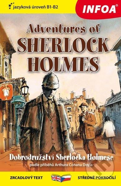 Adventures of Sherlock Holmes / Dobrodružství Sherlocka Holmese - Ashley Davies, Arthur Conan Doyle