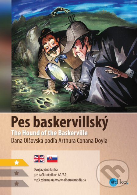Pes baskervillský / The Hound of the Baskervilles - Arthur Conan Doyle, Dana Olšovská