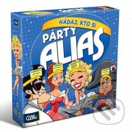 Párty Alias hádaj, kto si? - Albi