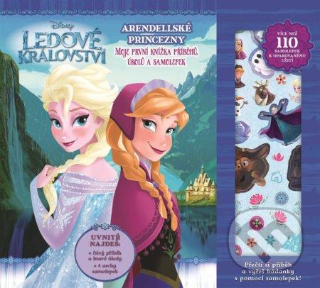 Ledové království: Moje první knížka příběhů a aktivit -