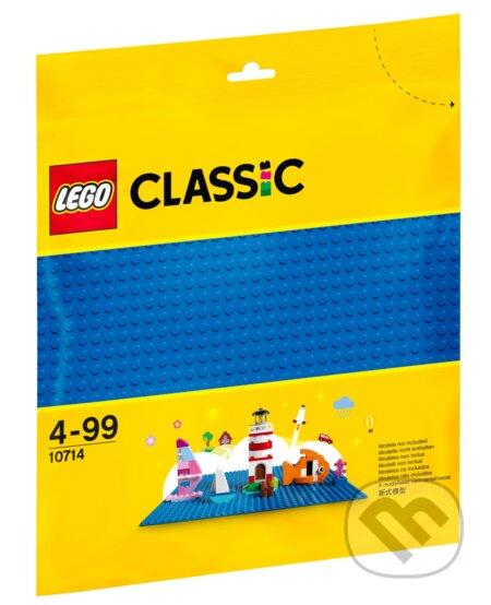LEGO Classic - Modrá podložka na stavanie - LEGO