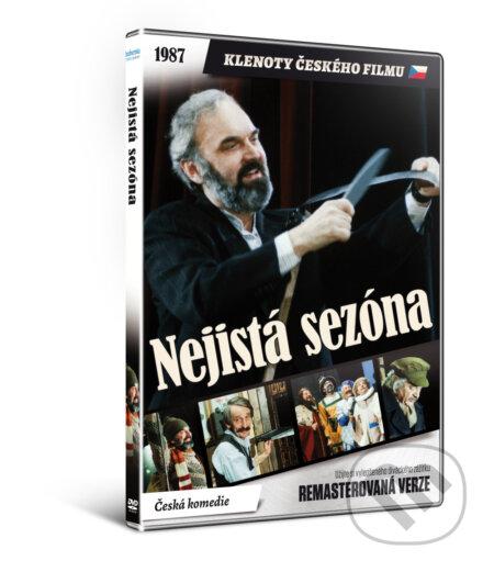 Nejistá sezóna DVD
