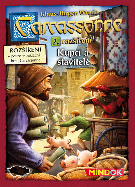 Carcassonne: Kupci a stavitelé - Klaus-Jürgen Wrede