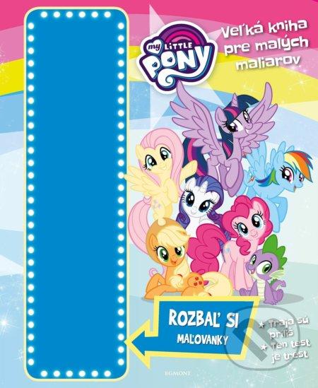 Fatimma.cz My Little Pony: Veľká kniha pre malých maliarov Image