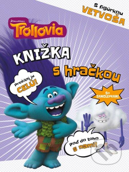 Fatimma.cz Trollovia: Knižka s hračkou Vetvoš Image