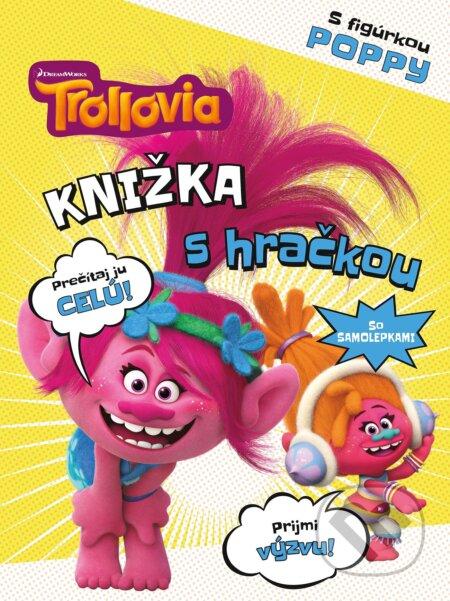 Fatimma.cz Trollovia: Knižka s hračkou Poppy Image