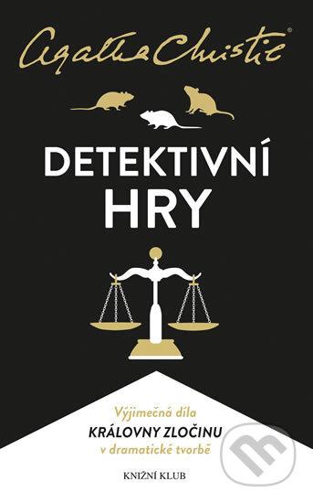 Detektivní hry (Past na myši, Pavučina, Svědkyně obžaloby) - Agatha Christie