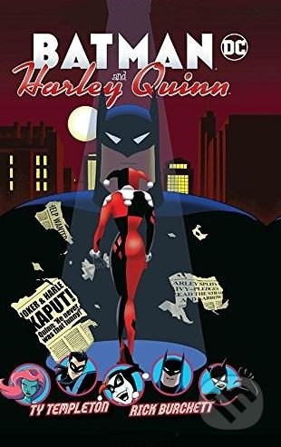 Harley Quinn and Batman - Ty Templeton
