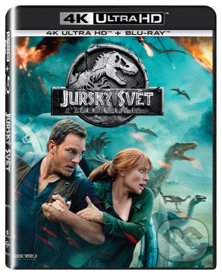 68d571a91 Film: Jurský svět: Zánik říše Ultra HD Blu-ray (J.A. Bayona ...