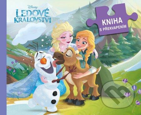 Ledové království: Kniha s překvapením - Egmont ČR