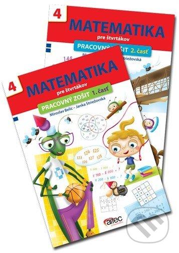Fatimma.cz Matematika pre štvrtákov (sada 2 pracovných zošitov - 1. a 2. časť) Image