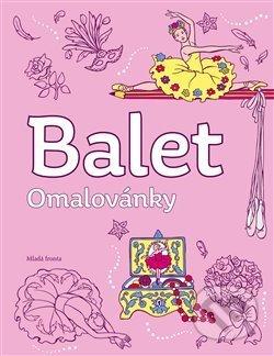 Balet - omalovánky - Mladá fronta