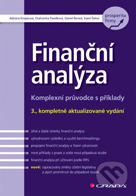 Finanční analýza - Adriana Knápková, Drahomíra Pavelková, Daniel Remeš, Karel Šteker