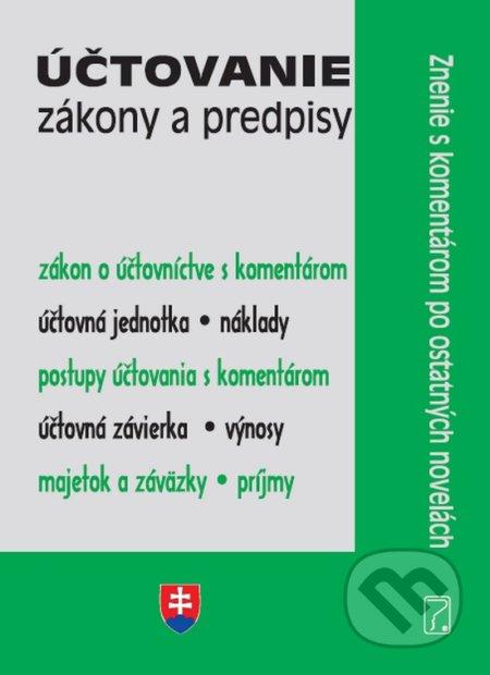 Fatimma.cz Účtovanie – Zákony a predpisy Image
