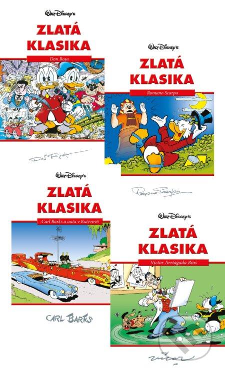Fatimma.cz Disney: Zlatá klasika 1-4 (kolekce) Image