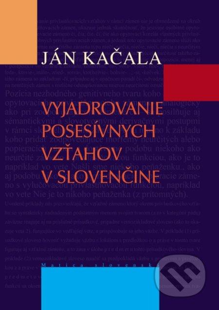 Peticenemocnicesusice.cz Vyjadrovanie posesívnych vzťahov v slovenčine Image