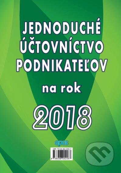 Fatimma.cz Jednoduché účtovníctvo podnikateľov na rok 2018 Image