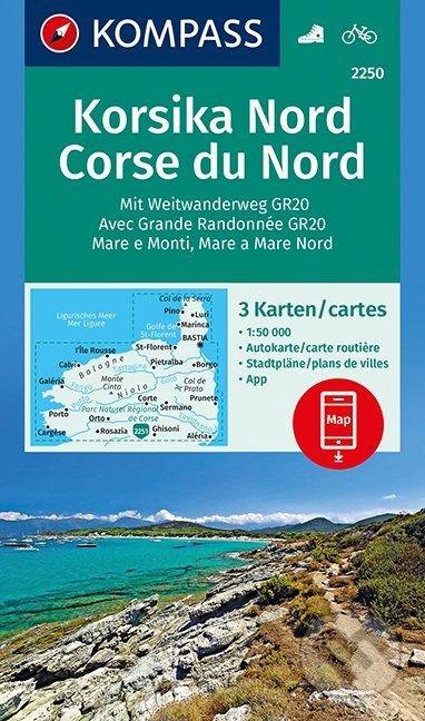 Kniha Korsika Nord Corse Du Nord Kompass Martinus