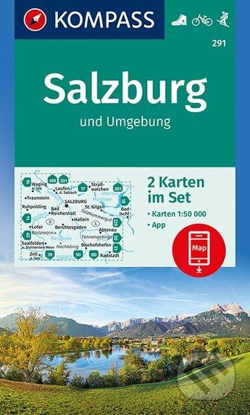 Kniha Salzburg Und Umgebung Kompass Martinus