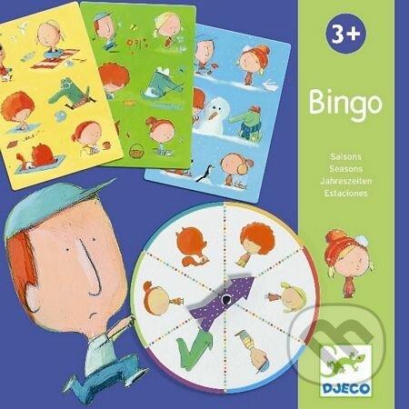 8928f753a Spoločenské hry: Bingo ročné obdobia (Djeco) | Martinus