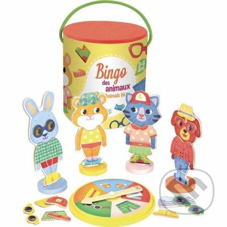 73a99069d Spoločenské hry: Magnetické bingo Zvieratká (Djeco) | Martinus