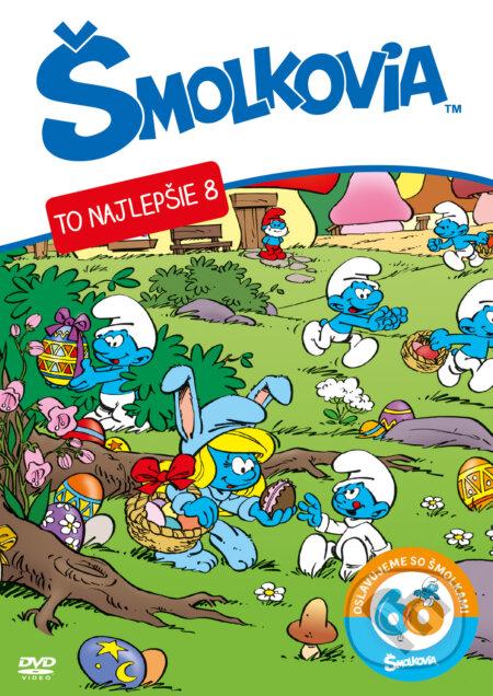 Šmolkovia DVD