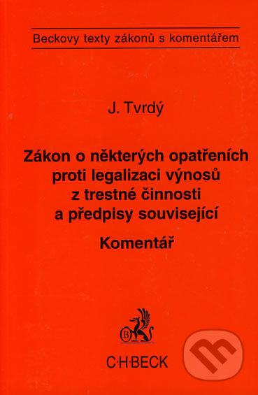 Fatimma.cz Zákon o některých opatřeních proti legalizaci výnosů z trestné činnosti a předpisy související Image