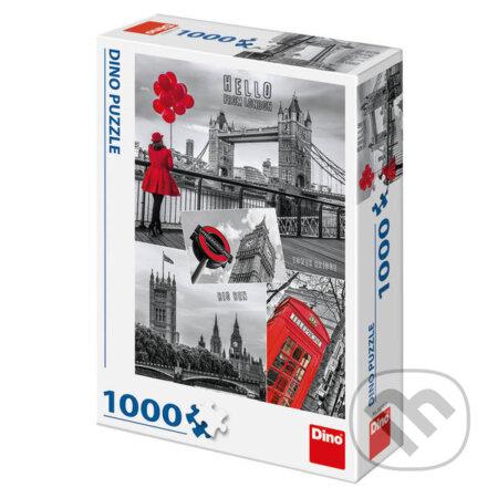 Londýn koláž - Dino