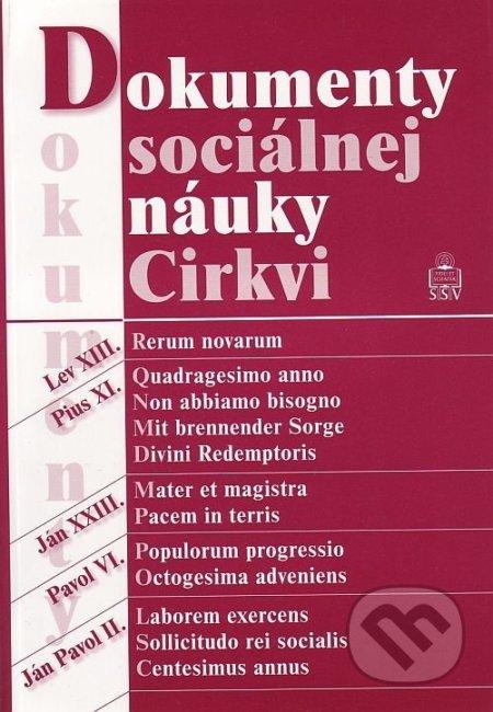 Dokumenty sociálnej náuky Cirkvi - Spolok svätého Vojtecha