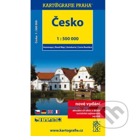Peticenemocnicesusice.cz Česko - automapa 1:500 000 Image
