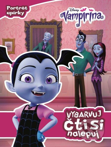 Vampirina: Vybarvuj, čti si, nalepuj - Egmont ČR