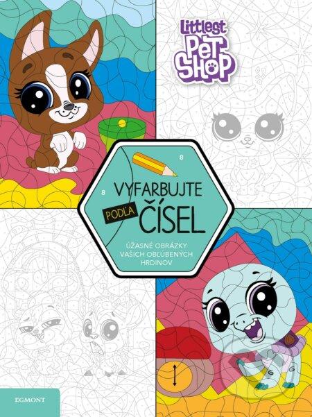 Littlest Pet Shop: Vyfarbujte podľa čísel -
