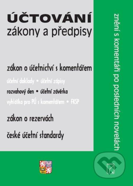 Fatimma.cz Účtování – Zákony a předpisy Image